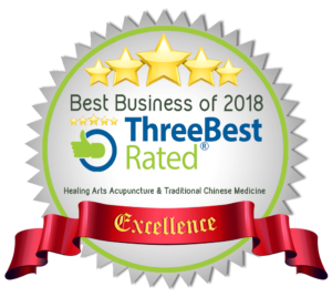 Three Best Rated badge 2018