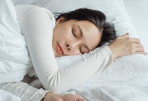 sleeping person